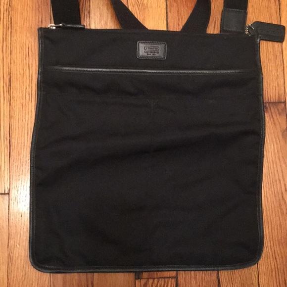 Coach unisex messenger canvas bag